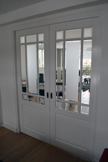 Verf en milieu schildersbedrijf wim peeters - Schuifdeur keuken woonkamer ...